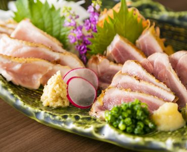 鶏の炭火たたき<br /> 780円(税別)